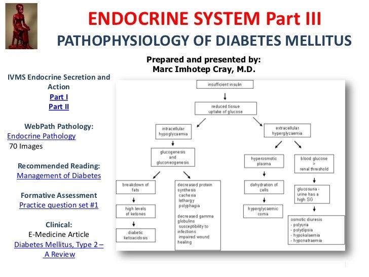 IVMS Endocrine Part III-PATHOPHYSIOLOGY OF DIABETES MELLITUS