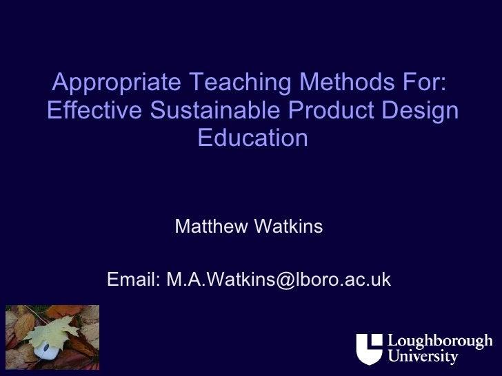 End Of Year One PhD Presentation