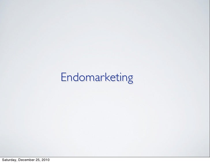 Endomarketing Intro