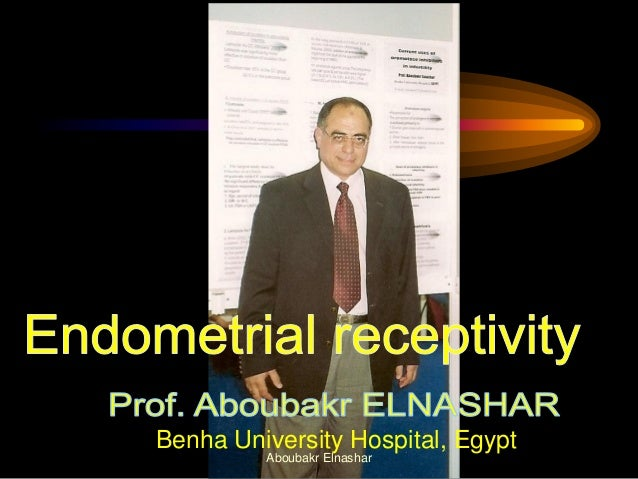 Benha University Hospital, Egypt Aboubakr Elnashar