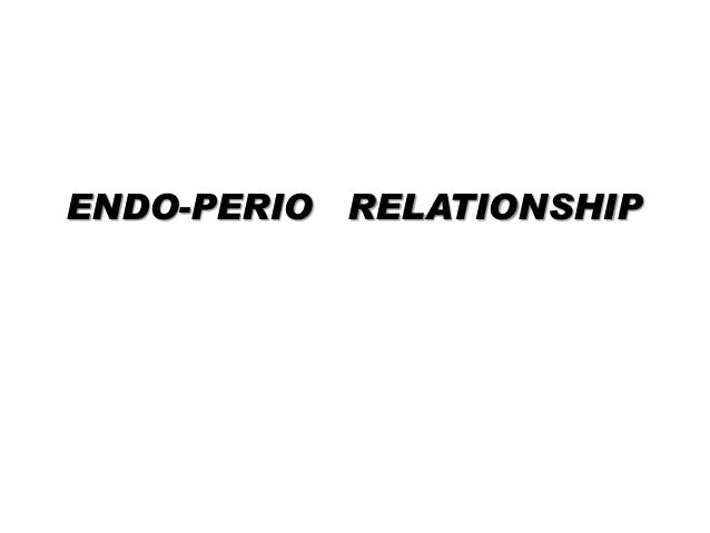 ENDO-PERIO RELATIONSHIP