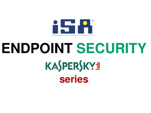 ENDPOINT SECURITYseries