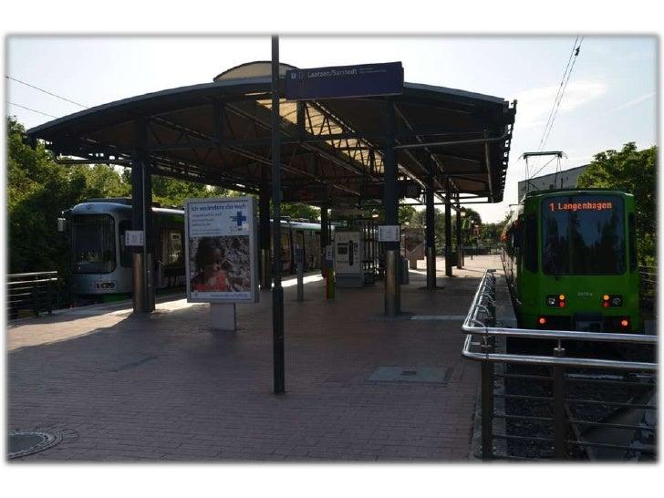 Endstationen der Stadtbahn Hannover