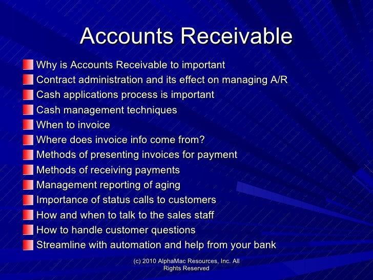 end to end accounts receivable process