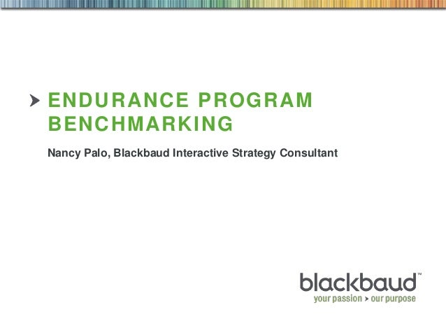 Endurance Program Benchmarking Run Walk Ride 2013