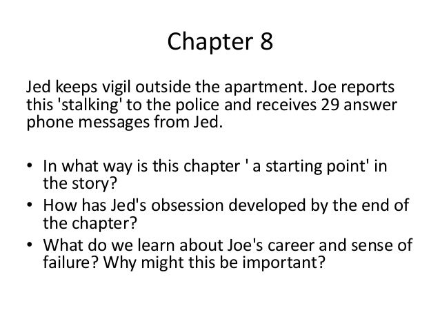 enduring love chapter nine essay Enduring love essay help enduring love essay movie analysis poverty doesn't cause crime essay help with masters how does chapter nine differ in its presentation.