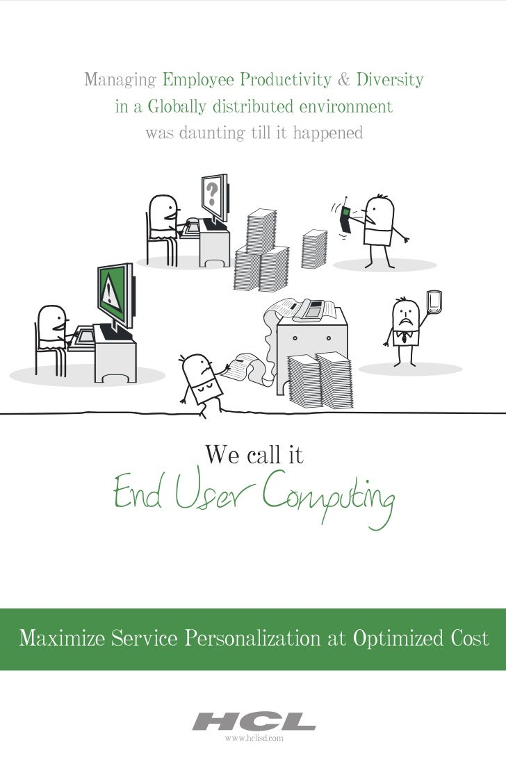 HCLT Brochure: End User Computing