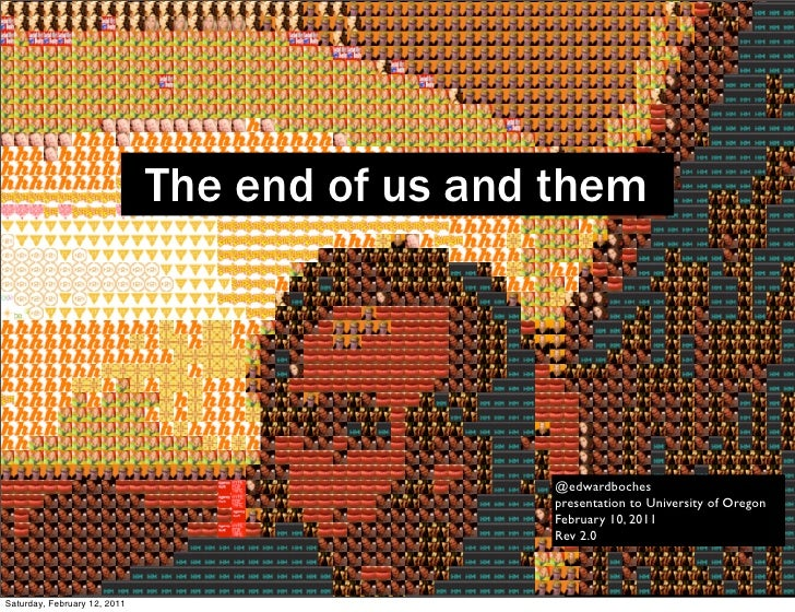 The End of Us and Them (rev 2)