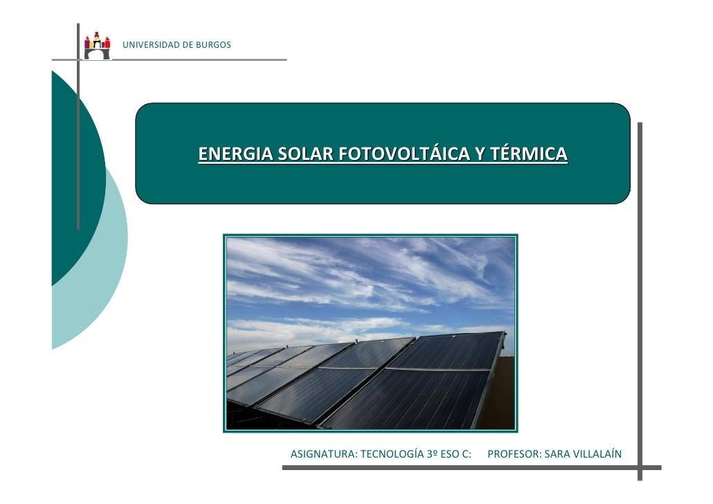 Enegia solar