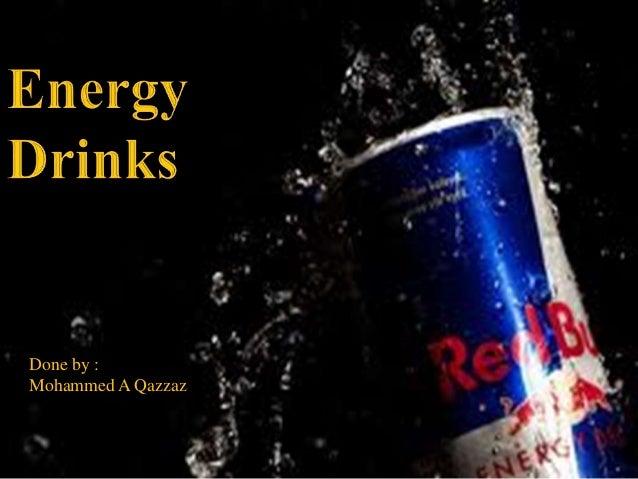 Enegry drink hazards