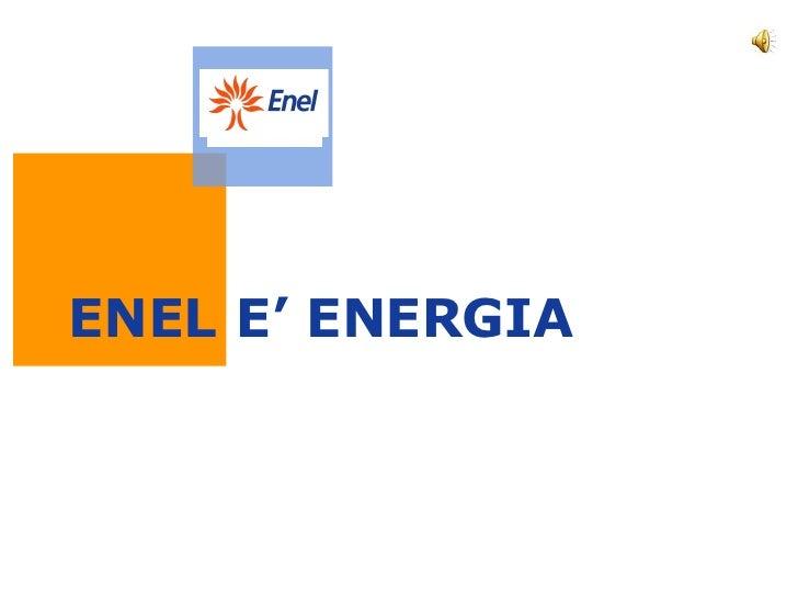 Enel New Spot