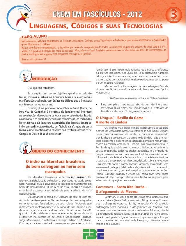 ENEM em Fascículos - Fascículo 3 - Linguagens