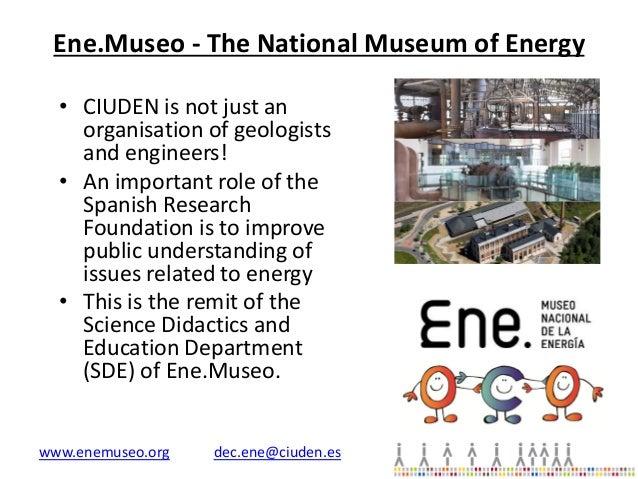 Ene.Museo Nacional de la Energía