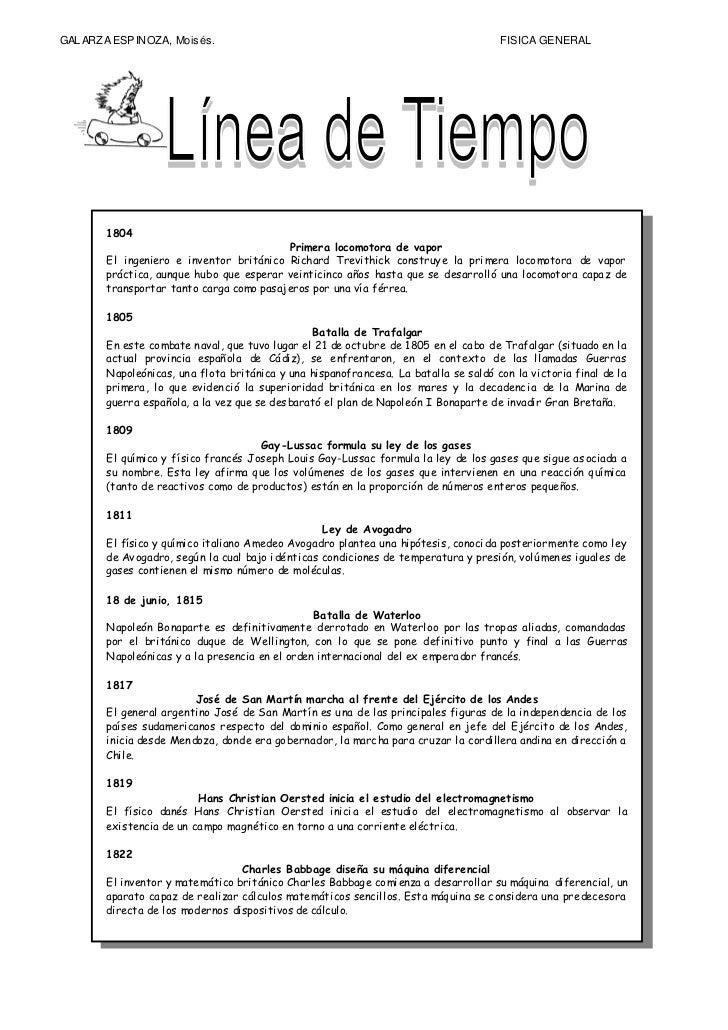 GAL ARZA ESPINOZA, Mois és.                                                           FISICA GENERAL        1804          ...