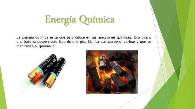 Energ a qu mica for La quimica de la cocina