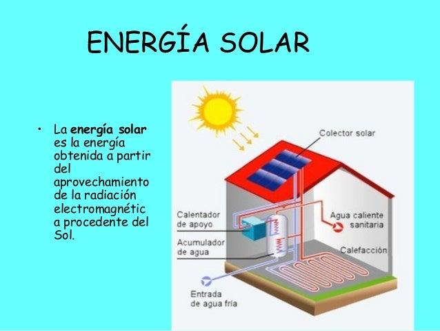 Beneficios Energia Solar Energía Solar• la Energía