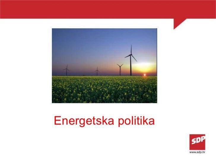 Energetska politika