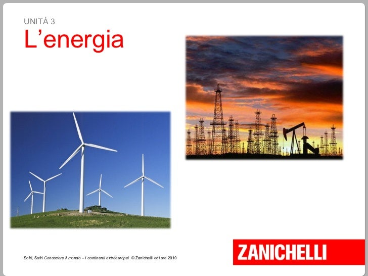 UNITÀ 3 L'energia