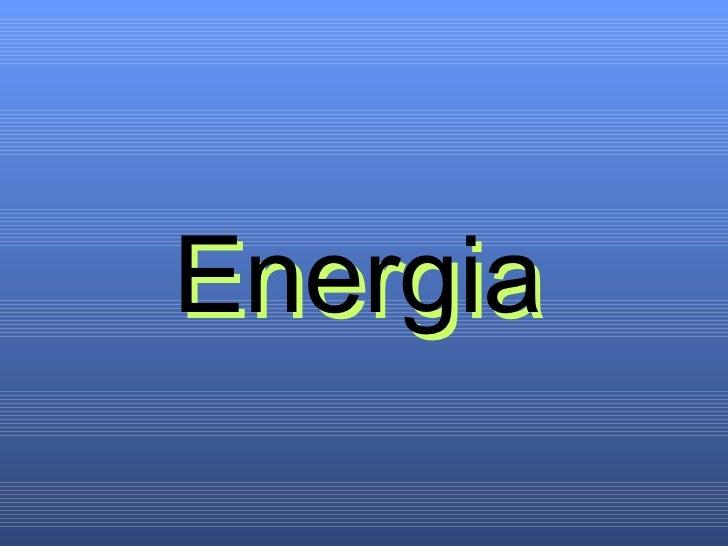 Energia Energia