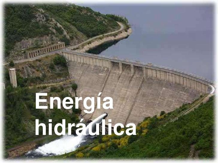 Energíahidráulica