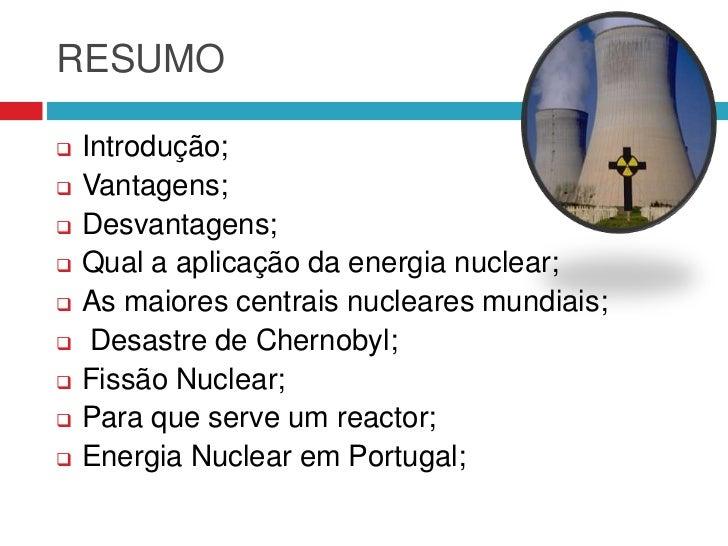 Energia nuclear resumo