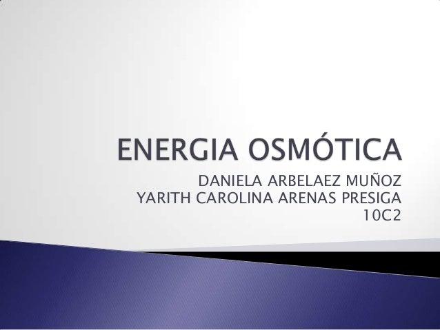 Energia osmótica
