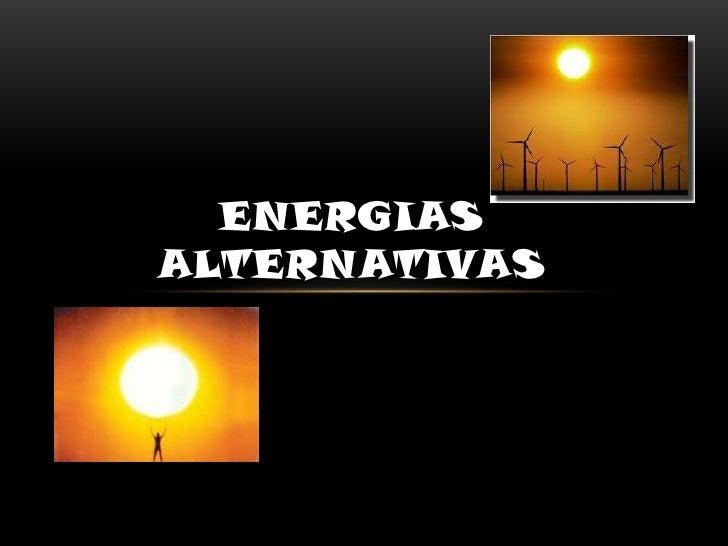 ENERGIASALTERNATIVAS