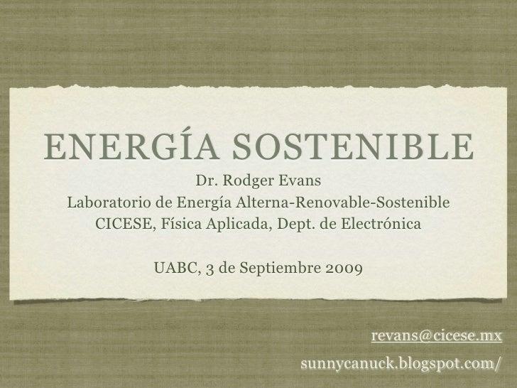 Energia sostenible uabc 09-2009