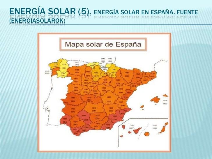 Energias Renovables España Energía Solar en España