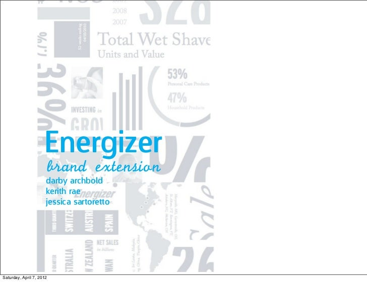 Energizer                          brand	 extension                      darby archbold                      kerith rae   ...
