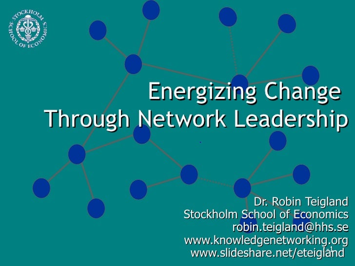 Energizing Change Through Network Leadership 1225920401627479 8
