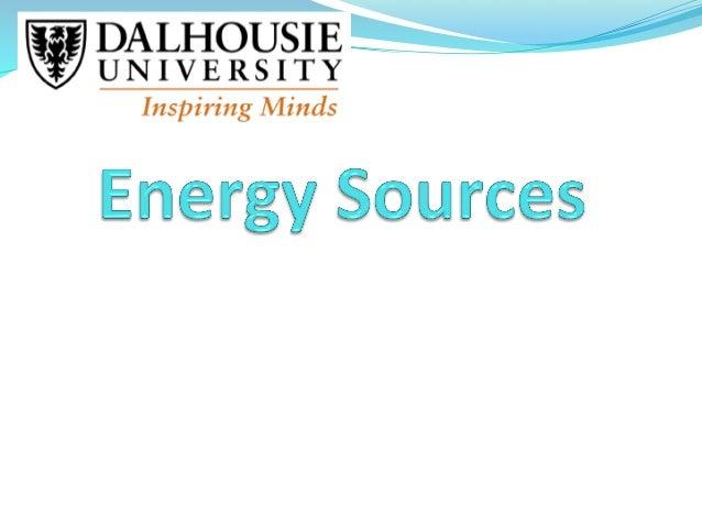 Energy sources jb