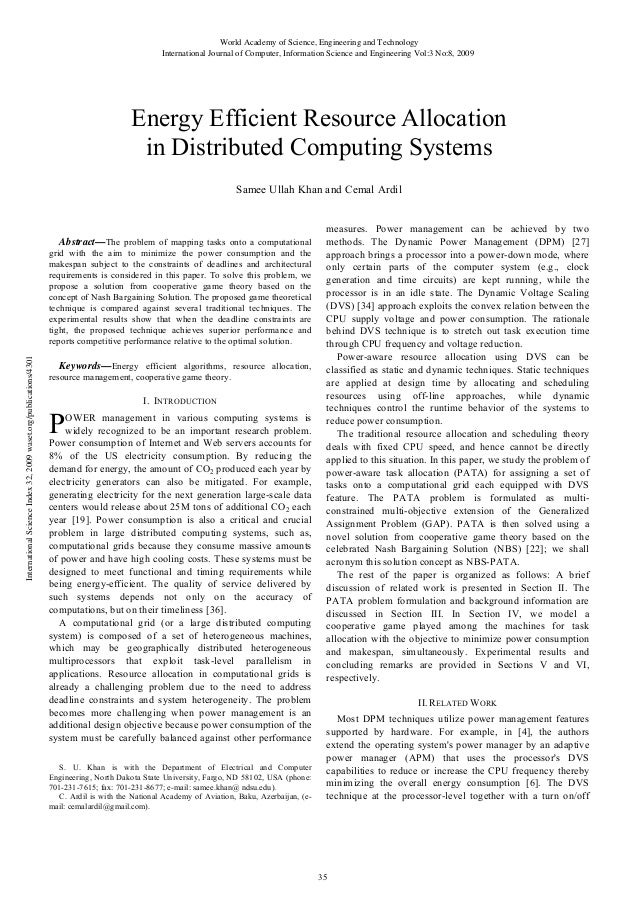 Energy efficient-resource-allocation-in-distributed-computing-systems