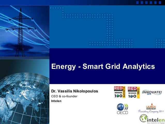 Energy smart grid-analytics and insights of Intelen patented Technology