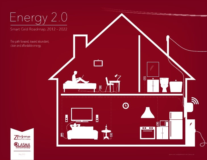 [Smart Grid Market Research] Energy 2.0: Smart Grid Roadmap, 2012 – 2022, May 2012 by Zpryme & Clasma