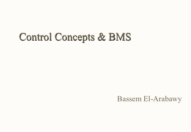 day 3: Control Concepts & BMS