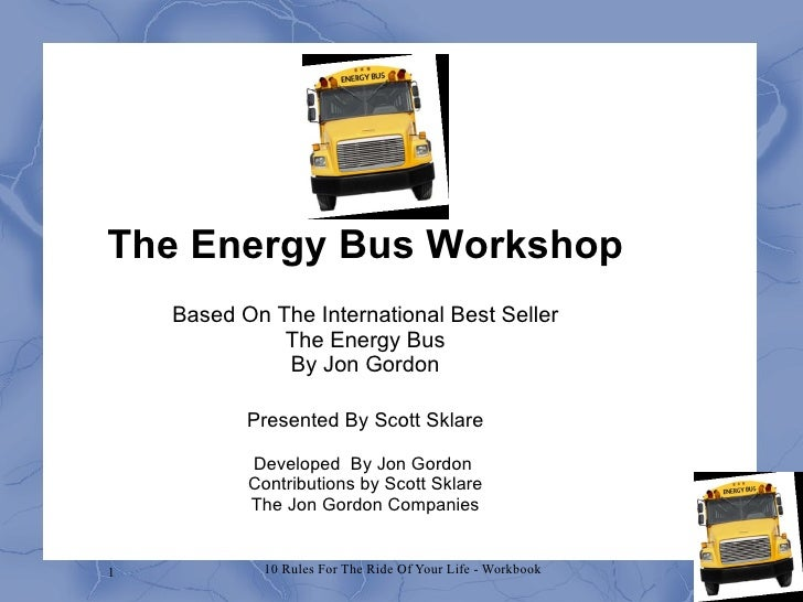 Energy bus workshop draft 1