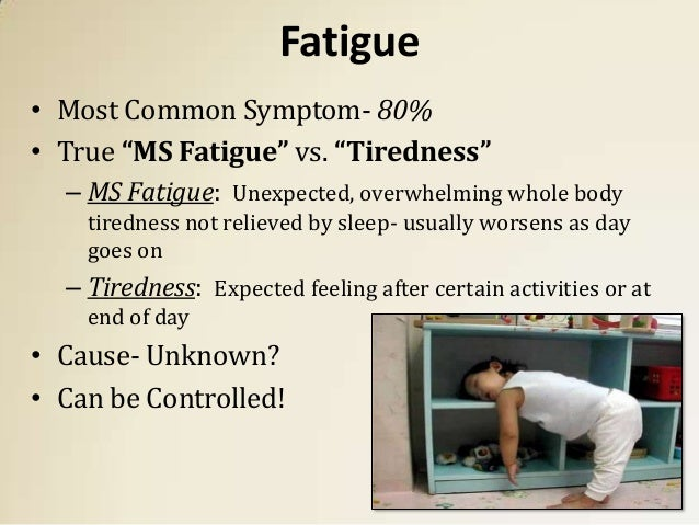 MS Fact #1: Fatigue | Positive Living with MS