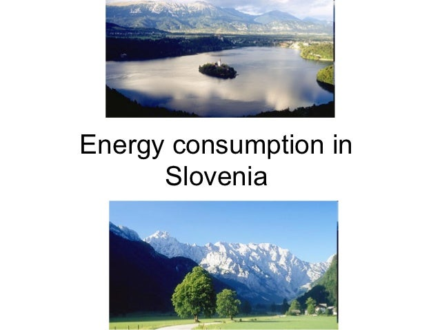 Energy consumption in slovenia and at etrš 1