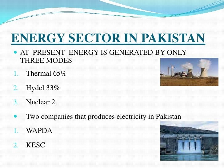 energy crisis and pakistan essay