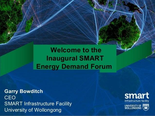 SMART Energy Demand Forum