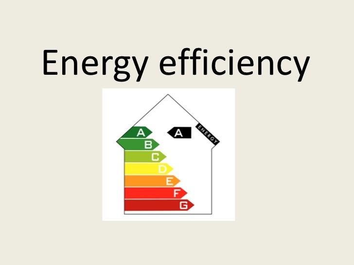 Energy efficiency<br />