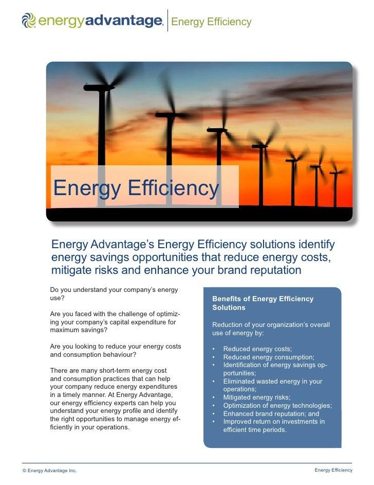 ™                                                ®   Energy Efficiency            Energy Efficiency            Energy Adva...
