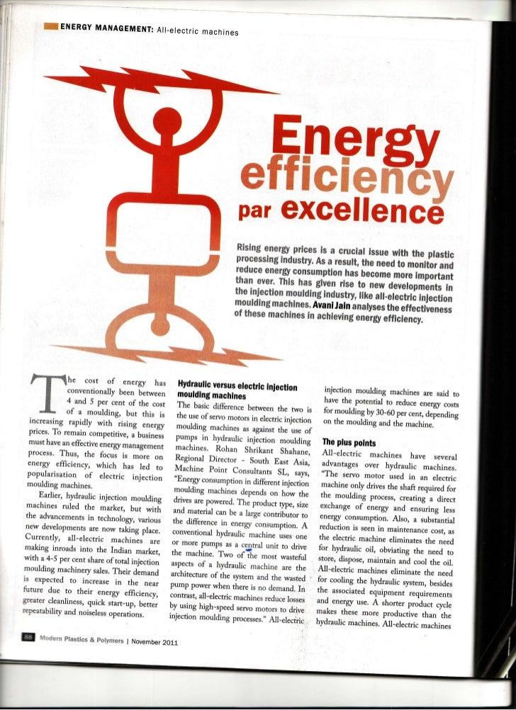 Energy Efficiency Par Excellence