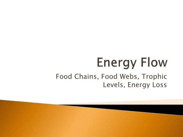 Energy flow (bd mod)