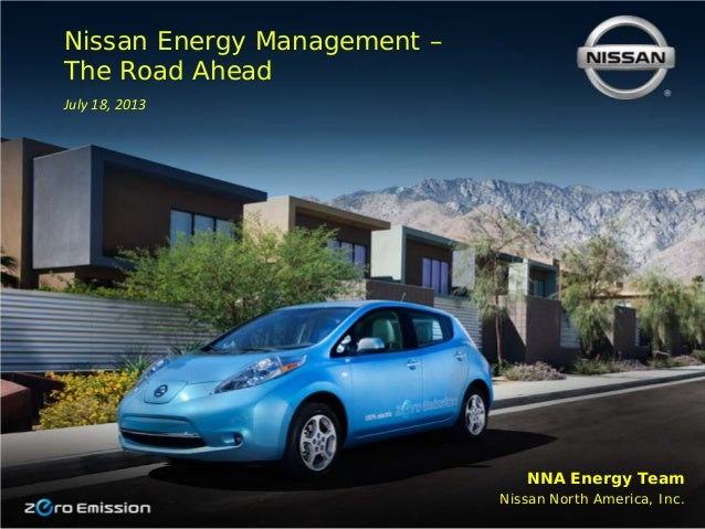 Energy management – the road ahead