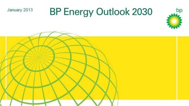 BP Energy Outlook 2013: Presentation