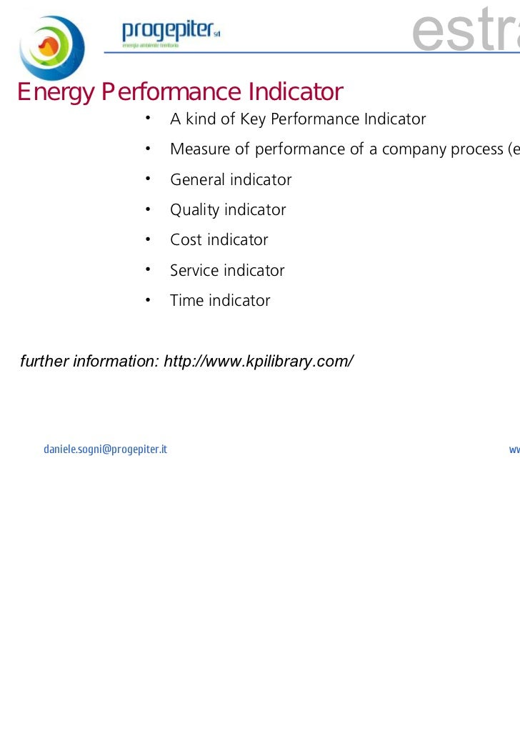 estrattoEnergy Performance Indicator                         •       A kind of Key Performance Indicator                  ...
