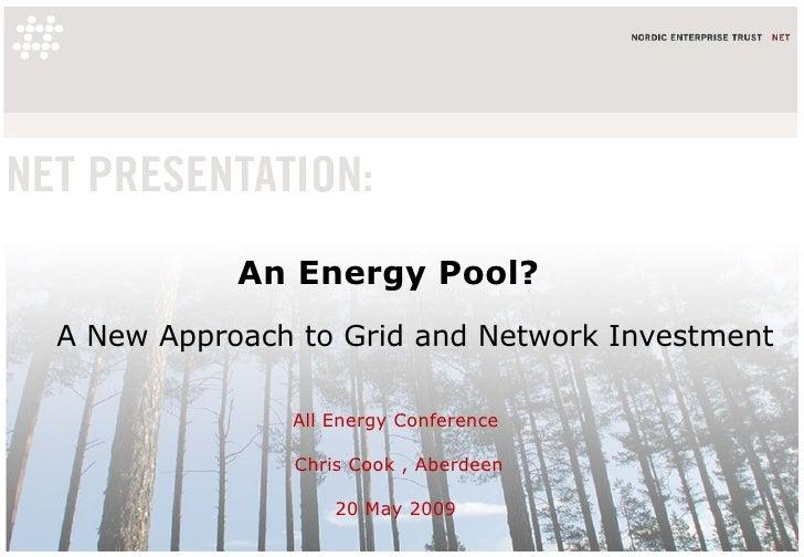 Energy Pool 20 05 2009