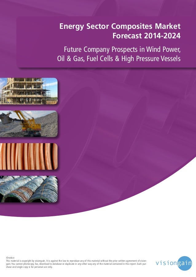 Energy Sector Composites Market Forecast 2014-2024 Future Company Prospects in Wind Power, Oil & Gas, Fuel Cells & High Pr...